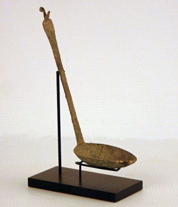 Excavated Bronze Cooking Ladle