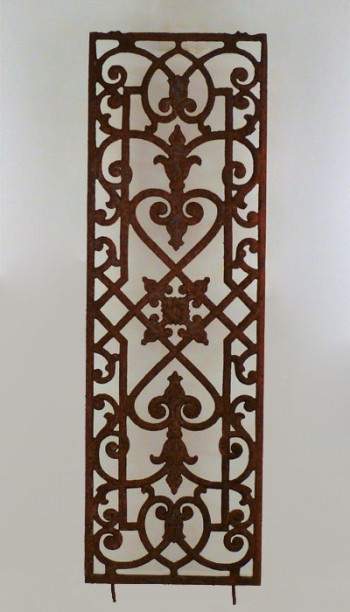 Decorative Iron Grate
