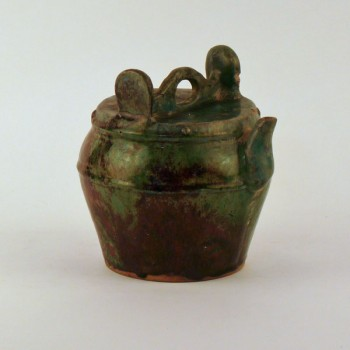 Late Qing Dynasty Teapot