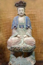 Seated Quan Yin