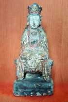 Seated Quan Yin Figure